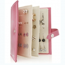 Leather Book of Earrings