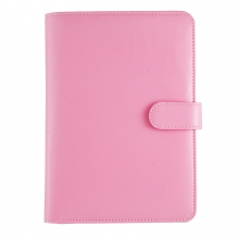Leather Jewellery Holder Baby Pink