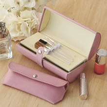 Leather Make Up Case