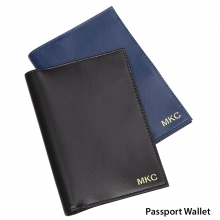 Leather RFID Passport Holder